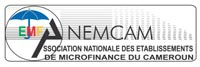 Logo Association nationale des établissement des microfinance du Cameroun ANEMCAM